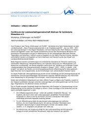 Zusammenfassung als PDF - LAG Wohnen für behinderte ...