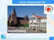 Aschaffenburg - bei der LAGZ