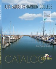 LAHC WEB Catalog 2012-14.indd - Los Angeles Harbor College