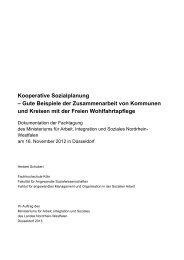 Kooperative Sozialplanung - Gute Beispiele der ... - Lahn-Dill-Kreis