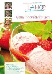 Gemeindemitteilungen Juli 2013 (0,4 MB) - Bibelkonferenzstätte ...