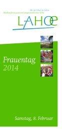 Frauentag 2014 - Bibelkonferenzstätte Langensteinbacher Höhe