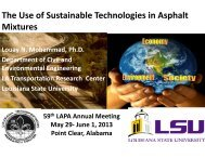 The Use of Sustainable Technologies in Asphalt Mixtures past ...