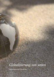 Globalisierung von unten - Lateinamerika-Institut - Freie Universität ...