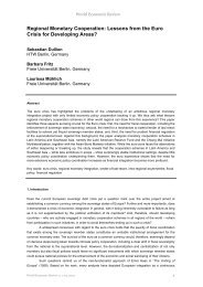 Regional Monetary Cooperation: Lessons from the Euro Crisis for ...