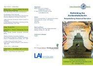 Rethinking the Auslandsdeutsche: - Lateinamerika-Institut - Freie ...