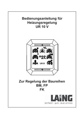 Laing Epr 15 manual