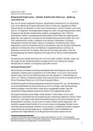 Sozialer Arbeitsmarkt blutet aus - Brigitte Pothmer, MdB