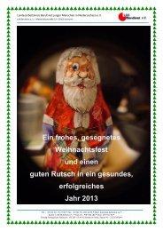 Weihnachtsbrief 2012 - LAK Berufsnot