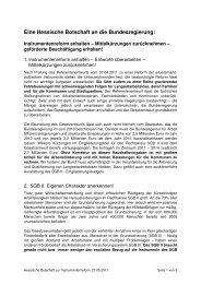 Hessische Botschaft - LAK Berufsnot
