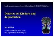 Diabetes bei Kindern und Jugendlichen - Landesapothekerkammer ...