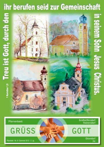 Pfarrblatt im Pfarrverband Sommer 2012 - Katholische Kirche ...