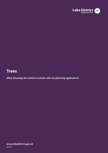 Tree survey guidance note (PDF) - Lake District National Park