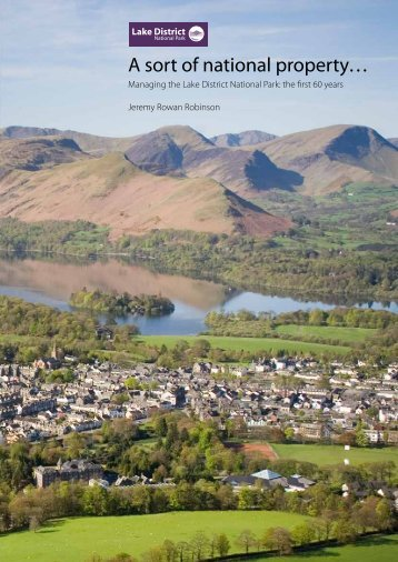 the first 60 years - Lake District National Park