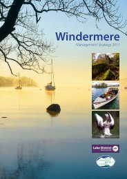 Windermere Management Strategy (PDF) - Lake District National Park