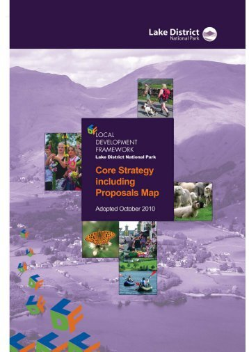 Core Strategy (PDF) - Lake District National Park