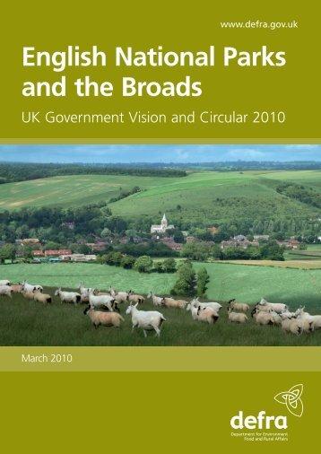 National Parks Circular - Gov.uk