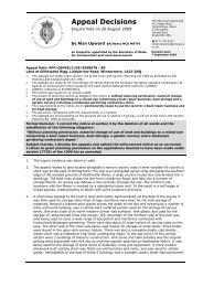 Appeal Decision Letter October 2009 (PDF) - Lake District National ...