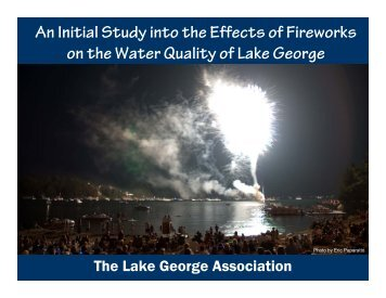 An Initial Study into the Effects of Fireworks on the Water Quality of ...