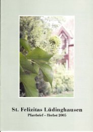 St-Felizitas-Luedinghausen-Pfarrbrief-Herbst-2005