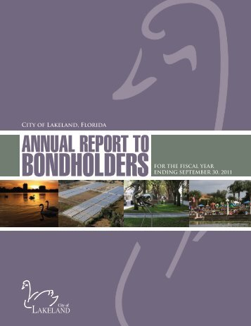 ANNUAL REPORT TO BONDHOLDERS - City of Lakeland