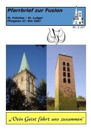 St-Felizitas-Luedinghausen-Pfarrbrief-zur-Fusion-Pfingsten-2007