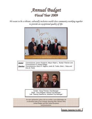 2009 - City of Lakeland