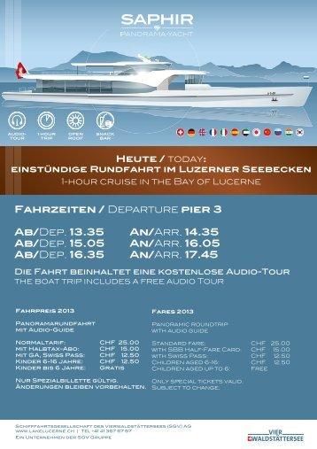 Arr. 17.45 - Schifffahrtsgesellschaft des Vierwaldstättersees