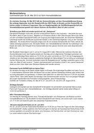Medienmitteilung Sommerfahrplan ab 26. Mai 2013 auf dem ...
