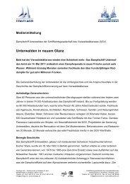 01.02.11 Medienmitteilung Sanierung Dampfschiff Unterwalden