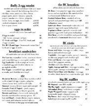 Breakfast Club - LakePlacidMenus.com