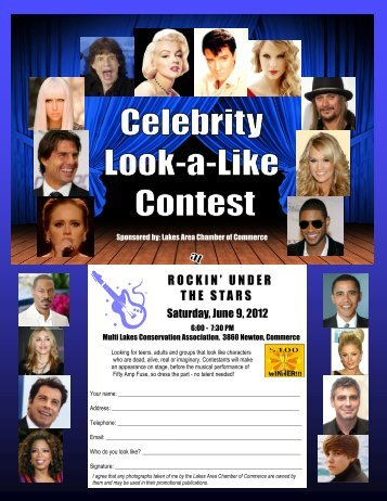 Look-a-Like Contest.pub - Lakes Area Chamber of Commerce
