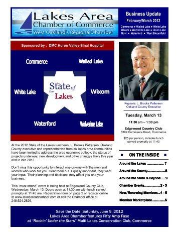 Newsletter Feb-Mar 12.pub - Lakes Area Chamber of Commerce
