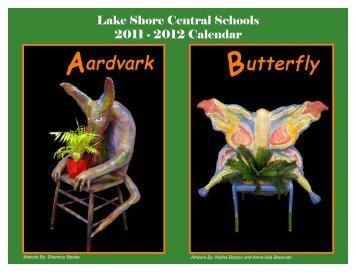 Lake Shore Central Schools 2011 - 2012 Calendar