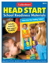 Head Start Catalog - Lakeshore Learning Materials