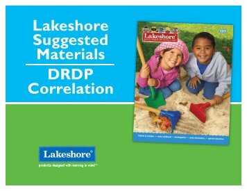 DRDP - Lakeshore Learning Materials