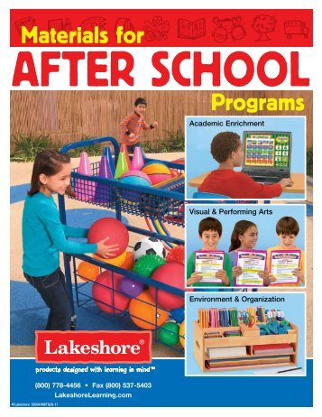Materials for Programs - Lakeshore Learning Materials