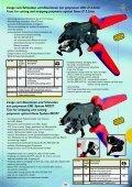 Werkzeuge für LWL - Bearbeitung Tools for processing optical fibres - Seite 4