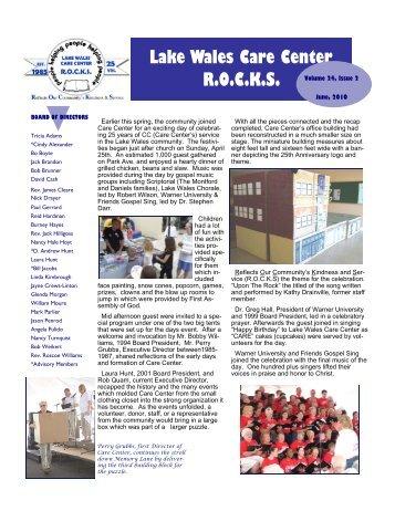 Lake Wales Care Center >> Www Lakewalescarecenter Org Magazines