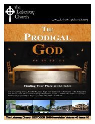 Lakeway Church Newsletter OCTOBER 2010.pub - The Lakeway ...