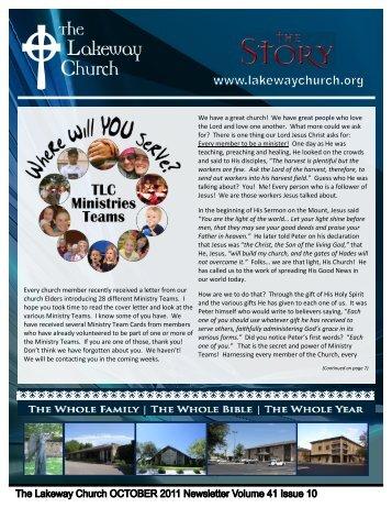 October 2011 - The Lakeway Church