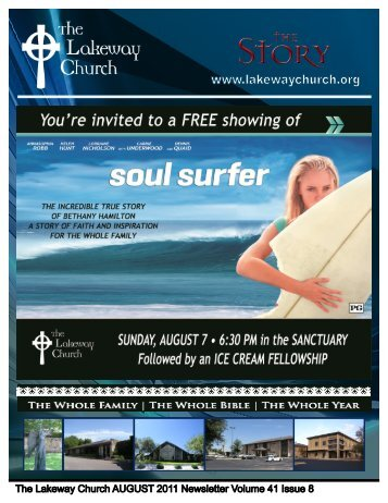 August 2011 - The Lakeway Church