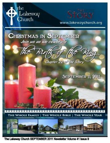 September 2011 - The Lakeway Church