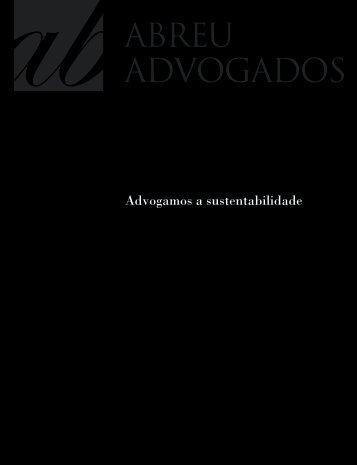 Relatório de Sustentabilidade 2007-2008 [PDF] - Abreu Advogados