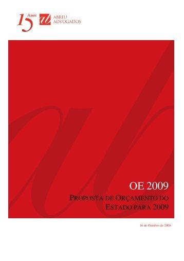 OE 2009 - Abreu Advogados