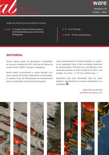 EDITORIAL - Abreu Advogados