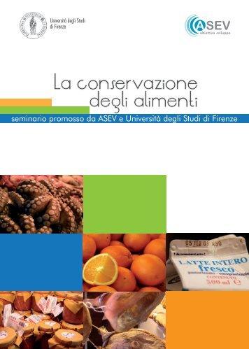 La conservazione degli alimenti - ASEV