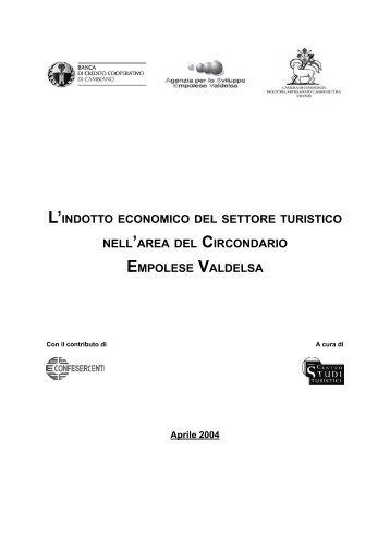 L'INDOTTO ECONOMICO DEL SETTORE TURISTICO NELL ... - ASEV