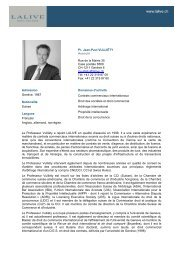 Pr. Jean-Paul VULLIÉTY Associé Rue de la Mairie 35 Case ... - Lalive