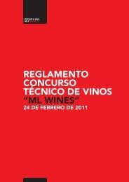 """reglamento concurso técnico de vinos """"ml wines"""" - Lallemand Wine"""
